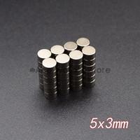 neodimyum mıknatıslar x 3mm toptan satış-10 adet Neodimyum Disk Mıknatıslar 5x3mm N35 Süper Güçlü Güçlü Nadir Toprak 5mm x 3mm Küçük Yuvarlak Mıknatıs