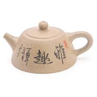 teteras yixing al por mayor-China de YiXing Zisha Tetera-prima cerámica de la cerámica hecha a mano de la arcilla púrpura Teapot- Tea Pot Hervidor Caja de regalo