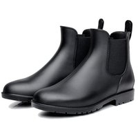 melhores sapatos de inverno sapatos de couro venda por atacado-2019 Novo Inverno Botas Homem Moda Masculina Tornozelo Botas Sapatos de couro casual para Waterproof estilo best-seller Homens frete grátis