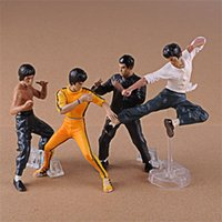 Wholesale mini doll movie for sale - Group buy Star Action Figures Bruce Lee Doll Kungfu Character Mini Statue Movie Fashion Popular Famous Meaningful Infrequent New mf D1