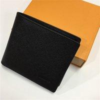 pantalones cortos para hombre al por mayor-carteras de diseño carteras de diseño para hombre carteras de lujo monedero zippy carteras de diseño para hombres carteras de diseñador monederos largos plegados m46002 z003