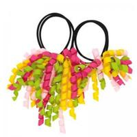 ingrosso accessori per i capelli delle madri-Roll Head Rope Stretch Head Anello Mother Set Neonate Corda elastica per capelli Hairband Copricapo Accessori moda GGA1559