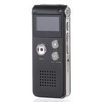 ingrosso microfono del registratore vocale-Il produttore più famoso che incontra un registratore vocale digitale da 8 GB con microfono LCD con schermo LCD e un dittafono con penna