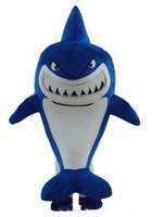 personagens profissionais venda por atacado-Fábrica de transporte profissional direto novo adulto Tubarão Trajes Da Mascote Do Partido Dos Desenhos Animados Trajes Personagens