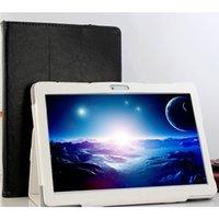android tablette kostenlos 3g großhandel-2018 Octa-Kern 3G GPS-Tablet 4 GB RAM 32 GB ROM 1920X1200 Doppelkameras 8MP Android 7.0 Tablet 10,1 Zoll S109 Freier Geschenkkoffer