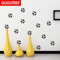 futbol çıkartmaları toptan satış-Süslemeleri Ev futbol karikatür sanat duvar sticker dekorasyon Çıkartmaları duvar boyama Çıkarılabilir Dekor Duvar Kağıdı G-1796