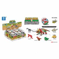 Wholesale education toys for sale - Group buy Dinosaur Toys Building Blocks Ball Pack Mini Animals Building Blocks for Kids Education Fun Gift for Birthday