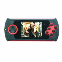 av card jogador venda por atacado-O jogo Handheld PVP PXP FC Sega do jogo de 2.8 polegadas apoia o jogo de NES / MD / GBA dos apoios do jogo da polegada