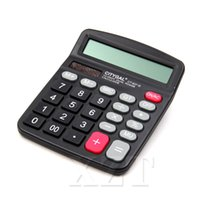 Wholesale newest electronics for sale - Group buy Calculator Digit Large Screen electronic Computer Financial Accounting Newest Portable high quality