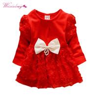 büyük yeni doğan toptan satış-Yenidoğan Bebek Kız Prenses Elbise Moda Lnfant Giysi Büyük Ilmek Dantel Gül Çiçekler Elbiseler Sevimli Kız Tulumları Giyim
