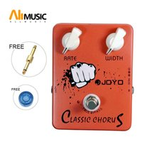 Wholesale guitar sound pedals for sale - Group buy Joyo JF Classic Chorus guitar pedal offers incredible sound MU0005