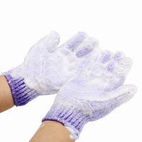 yüz zayıflama eldiveni toptan satış-DHL Ücretsiz gemi Nemlendirici Spa Cilt Bakımı Bez Banyo Eldiven Peeling Eldiven Bez Scrubber Yüz Vücut