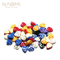 Wholesale guitar plectrums for sale - Group buy NAOMI Guitar Picks Houlder Adhesive Pick Plectrum Holder Assorted Guitar Picks Holder Guitar Parts Accessories NEW