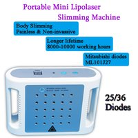 Wholesale mini diode lasers for sale - Group buy Lipolaser diodes lipo laser fat removal mini laser lipo fat burning machine for home use