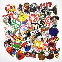Wholesale 1 millions Styles Cartoon Stickers pack Random Classic Fashion Style Graffiti Stickers For macbook Laptop Moto car Suitcase sticker