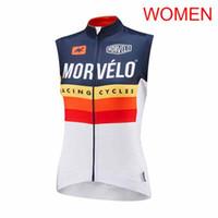 bisiklet için destek toptan satış-Morvelo ekibi Açık Spor kadınlar pro Bisiklet ekipmanları Nefes sıkı Hızlı kuruyan Eğlence Desteği özelleştirme 60505