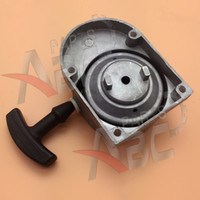Wholesale engine pull starter for sale - Group buy Alloy Pull Start Starter for Stroke cc cc Engine Motorized Bicycle