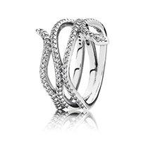 zirconia silberner schlangenring großhandel-2019 neue modische 925 Sterling Silber Europa zarte Schlange Ring mit Zirkonia für Frauen Hochzeit DIY Schmuck Geburtstagsfeier
