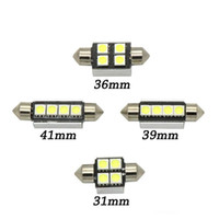 Wholesale 42mm led festoon lamp for sale - Group buy Lamp Bulb x High Quality mm mm mm mm C5W C10W Super Bright SMD Car LED Festoon Light Canbus Error Free Interior Doom EEA402