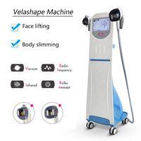 Wholesale training rollers resale online - Velashape Vacuum Roller Slim Machine skin tightening Velashape Vacuum RF Roller Slimming Machine equip video training