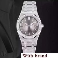 movimiento de cuarzo reloj batería al por mayor-Colores calientes 2pin royal oak watch women 33mm reloj de cuarzo movimiento de tic reloj falso N2122 relojes de batería de acero inoxidable 102688