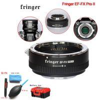 ii objektiv großhandel-Fringer EF-FX PRO II Autofokus-Adapter zur Aufnahme eines EF-Objektivs Kompatibel mit X-E EF-FX2 PRO X-H X-T X-PRO