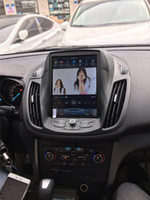 Wholesale 2013 plus FORD KUGA Tesla style MULTI MEDIA CAR Android SYSTEM SCREEN INCH GPS VIDEO AUDIO WIFI hot spot connection BLUETOOTH