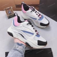 markalı tenis ayakkabıları spor ayakkabıları toptan satış-2019 Yeni Yüksek Kalite B22 Womens Fransız Tasarımcı Markalı Rahat ayakkabılar Tuval Mesh Up B22 Eğitmenler Tenis Ayakkabı Kadın Sneakers
