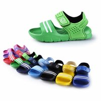 Wholesale kids girls pool for sale - Group buy Summer Casual Children Kids Shoes Baby Boy Closed Toe Summer Beach Flat Girls Casual Closed Toe Beach Pool Flat Pair