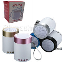 Wholesale mini bluetooth speakers for apple for sale - Group buy Mini Portable Subwoofer Wireless Bluetooth SpeakerCar Handsfree Receive Call Music Suction Mic For iPhone Samsung