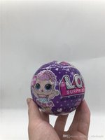 Wholesale magic toy bottles online - Glitter Series Doll Magic Egg Ball Action Figure Toy Kids Box packing Dolls Girls Funny Dress Up Gift Christmas Free shippi