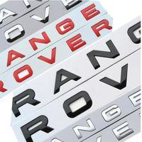 Car Styling Trunk Logo Emblem Badge Sticker Cover For Range Rover Sport Evoque