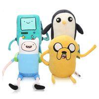 ingrosso prese per animali-Adventure Time Stuffed Animals giocattoli peluche Adventure baby 20-25cm Plus Animali giocattolo Materiale cristallo Super finn jack regali