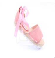 34 размер обуви оптовых-Плюс размер 34-43 квартиры сандалии летние женские сандалии мода Повседневная обувь для женщин Европейский Рим стиль сандалии женщин bv1