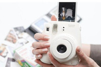 Wholesale polaroid instax mini film resale online - White Films For Mini S s Polaroid Instant Camera Fuji Instax Mini Film White Edge Cameras Papers Accessories set