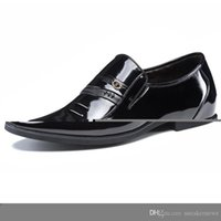 zapatos especiales aumentan la altura al por mayor-Propósito zapatos especiales Altura aumento de zapatos - Negro