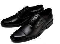 laços formais para homens venda por atacado-2019 Arrval homens casamento formal sapatos de couro de couro de luxo negócios sapatos de couro apontou loafers