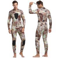 a1a6e57dfd Sbart New Camouflage 3mm Male Wet Suit Neoprene Nylon Wetsuit for Men Long  Sleeve One Piece Dive Suit for Scuba Dive Underwater. Supplier  lovingthesea
