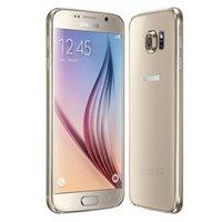 android t мобильный телефон оптовых-Оригинальный Samsung Galaxy S6 G920A / T 3 ГБ RAM 32 ГБ ROM Octa Core Android Мобильный телефон 16.0MP HD 5.1