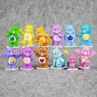 Wholesale japanese toys for kids resale online - Happy Rainbow Bears Japanese Style Kids Toys Multicolor Anime Mini Action figure Toy Children toys for boys girls Gift