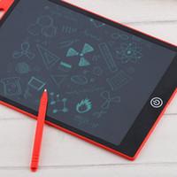 comprimés jouets achat en gros de-Numérique enfants dessin écriture manuscrite pad électronique ultra-mince 8,5 pouces LCD écriture tablette dessin dessin Graffiti jouet cadeau avec stylo