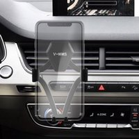 Wholesale universal phone vent holder online – 2019 Car Phone Holder For Phone In Car Air Vent Mount Stand No Magnetic Mobile Holder Universal Gravity Bracket