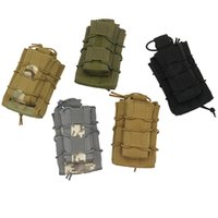 Wholesale free nylon fans for sale - Group buy Army Fans Tactical Pocket Portable Camping Equipment Hanging Bag Nylon Large Capacity Waistpacks Free Regulation Outdoor by N1