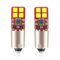 12 lâmpadas led 24v venda por atacado-10 Pçs / lote BA9S BAY9S T4W H6W H21W 12 V 24 V para VW Passat B6 golf 5 / bmw e60 e90 Canbus Carro Lâmpadas de Apuramento Luzes Da Placa de Dropship