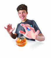 hombre escalando imanes al por mayor-DHL Fingertips Magneto Sphere Magic Ball Sensor de juguete Fidget Gyro Ball Dedo TOY Descompresión Magic Magnetic Ball LED Flash Regalo de Navidad