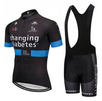 Wholesale cycling jerseys sets bib shorts resale online - New Novo Nordisk Team Men Cycling Jersey Bib Shorts Set Summer quick dry team Bike Outfits outdoor bicycle Uniform Sportswear Y071605