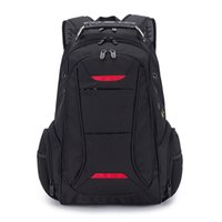 Wholesale backpack computer compartment resale online - New Inch Business Large Capacity Computer Bag Waterproof Wear Resistant Outdoor Travel Backpack Outdoor Hiking Backpack Teens School Bag