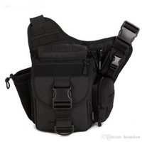 ingrosso fotografia a borsa a tracolla-20pcs spalla 8 colori Outdoor singolo sacchetto escursionismo Messenger Crossbody Bag Sling Molle della vita di caccia Borse pacchetto di Fotografia