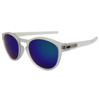 quecksilber sportbrillen großhandel-Designer-Sonnenbrillen-Luxusmode-Sport-Markengläser KUNDENSPEZIFISCHE 9265 transparente weiße / grüne Mercury-Spiegel-Linse geben Verschiffen frei OK150