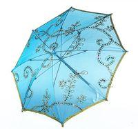 ingrosso crafting il trasporto libero del merletto-Commercio all'ingrosso bambini danza ombrello ombrello ombrello ricamo pizzo prestazioni diametro 26 cm 52 cm 82 cm colori della miscela A236 spedizione gratuita